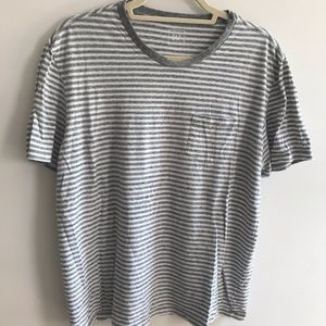 GAP Men's Striped Pocket Tee (Size L)